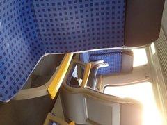White socks in train 1