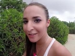 Amirah Adara Enjoys Hardcore Fuck In Park
