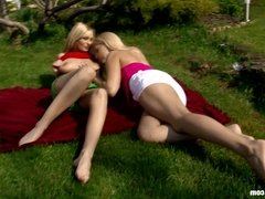 Sensual lesbian scene with Rikki and Antonia by Sapphic