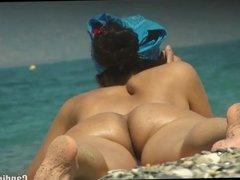 Hot Horny Pussy Close Ups Nudist Babes Beach Voyeur HD Video