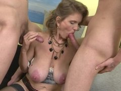 Mature.nl - Mature women fuck young sons