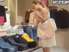 Woman like a sexy teacher in awesome upskirt clip
