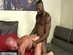 Big dick gay hardcore anal sex with cumshot