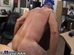Homemade mature gay men making love