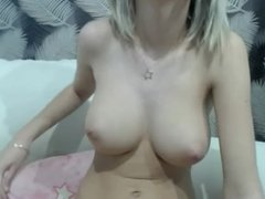 German Step-Sister give Handjob to brother when home alone