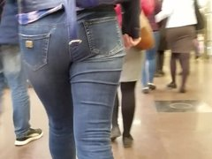 Young woman's tasty ass
