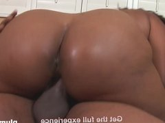 Big Beautiful Ebony woman takes huge black cock PLUMPERD.com
