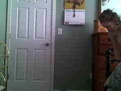 Wife Changing Clothes - Hidden Cam