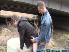 Gay guy solo jerk outdoor first time Out In