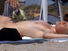 Teen Nudist Sunbather