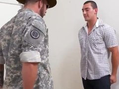 Porno army men hot military gay kiss first