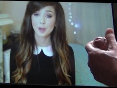 Youtuber Zoella admits she likes cum on her face..so i did
