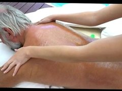 blonde angel fucked by old man