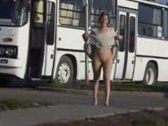 Bus Station Public Piss Slut