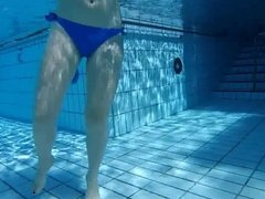pool mature and girls