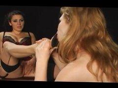 Naughty Ginger Girls Get Punished PT 2