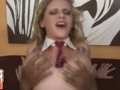 Hot Interracial Fucking And Cumming