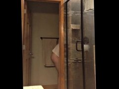 Spying my wife showering