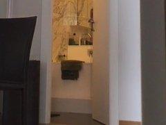 voyeur catches unaware MILF caught on hidden cam