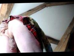 transvestite teen schoolgirl fisting anal dildo sextoy 205