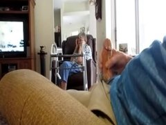 cum in front of mother-in-law