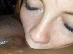 Beautiful Girl With Braces Sucks Off Black Dick