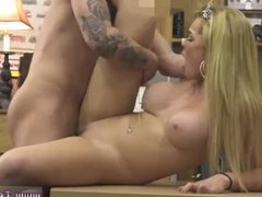 Bicep blowjob This tall luxurious blondie