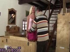 Blonde russian teen masturbates Desperate