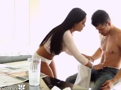 PASSION-HD Latin maid Selena Santana fucked by big dick house owner