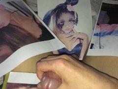 Ariana Grande Cum Tribute 35