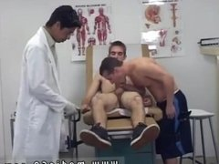 Men jacking off another gay man and cumming