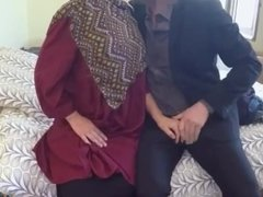 Gorgeous arab casting and student anal