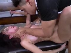 Gagged and fucked When A Stranger Calls