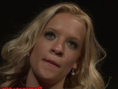 Euro babe punished before tasting jizz
