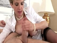 British MILF Degrades You Because His Is Bigger