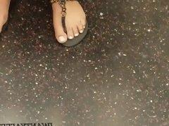 Candid pretty ass girl feet