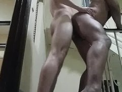 Raw Fucking On The Stairs