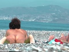 Horny Milfs Nudist beach Voyeur HD Spy Video Cam