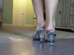 Dirty Feet In Mules