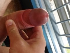 masturbation with big cumshot