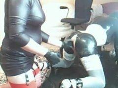 Amateur Rubberdoll Fisting Pt2
