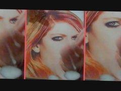 Avril Lavigne Rock N Roll Glory Hole Cum Tribute