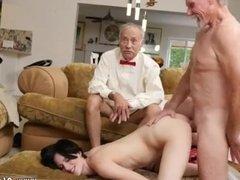 Old woman gangbang xxx Frannkie heads down