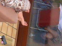 Les pieds de ma femme verni rose 2