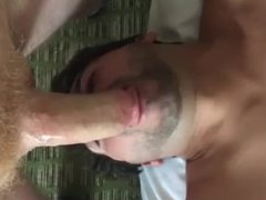 DEEPTHROAT4XXXXL gets the blow job done right on hung ginger Crotchonfire
