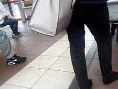 Desi shows in bus station