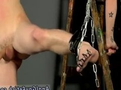 Male on gay sex group bondage first time