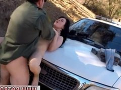 Milf cop fucks girl BP caught her, so she