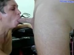 Bikers 3. 3-some play and double cum in pussy FOXANDFOXY