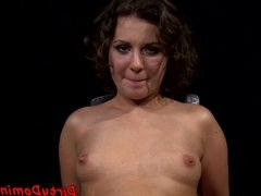 Strapon loving domina enjoys oral in pov